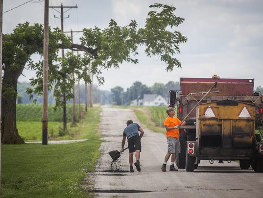 County releases road paving plan for Paving planner