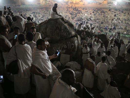 Mideast Hajj Photo Gallery