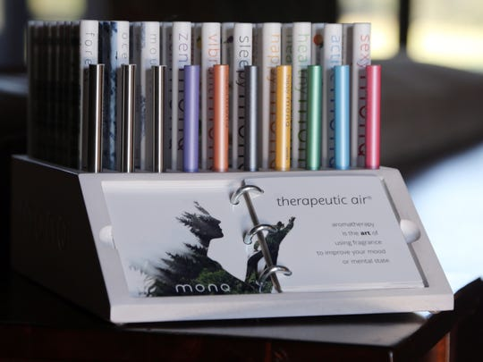 Aroma therapy products offered by MONQ photographed