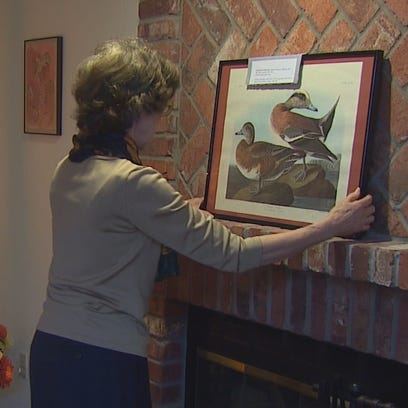 Judith Brownell is selling all the art she and her