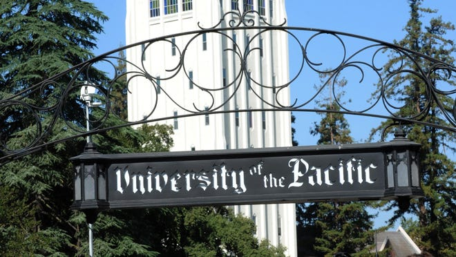 """University of the Pacific's academic year will proceed as scheduled, but social distancing will be monitored throughout campus , including classrooms, residence halls and dining rooms, """"to create an environment that protects the health, safety and welfare of our students, faculty and staff,"""" according to Maria Pallavicini, Pacific's interim president."""