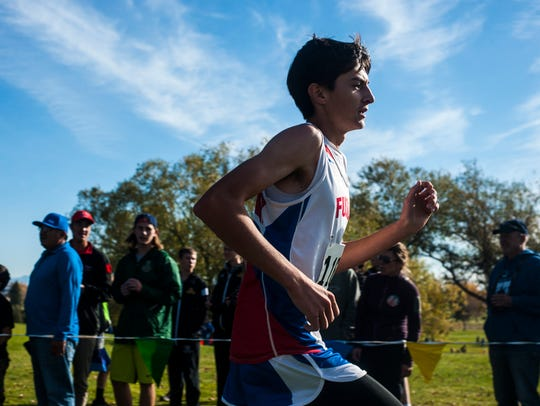 More than 1,000 runners competed in the state cross