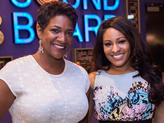 Big Brothers Big Sisters CEO Jeannine Gant and Maurielle Lue from Fox 2 News