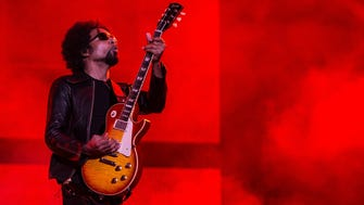 William DuVall of Alice in Chains performs on stage during a concert in the Rock in Rio Festival on September 19, 2013 in Rio de Janeiro, Brazil.