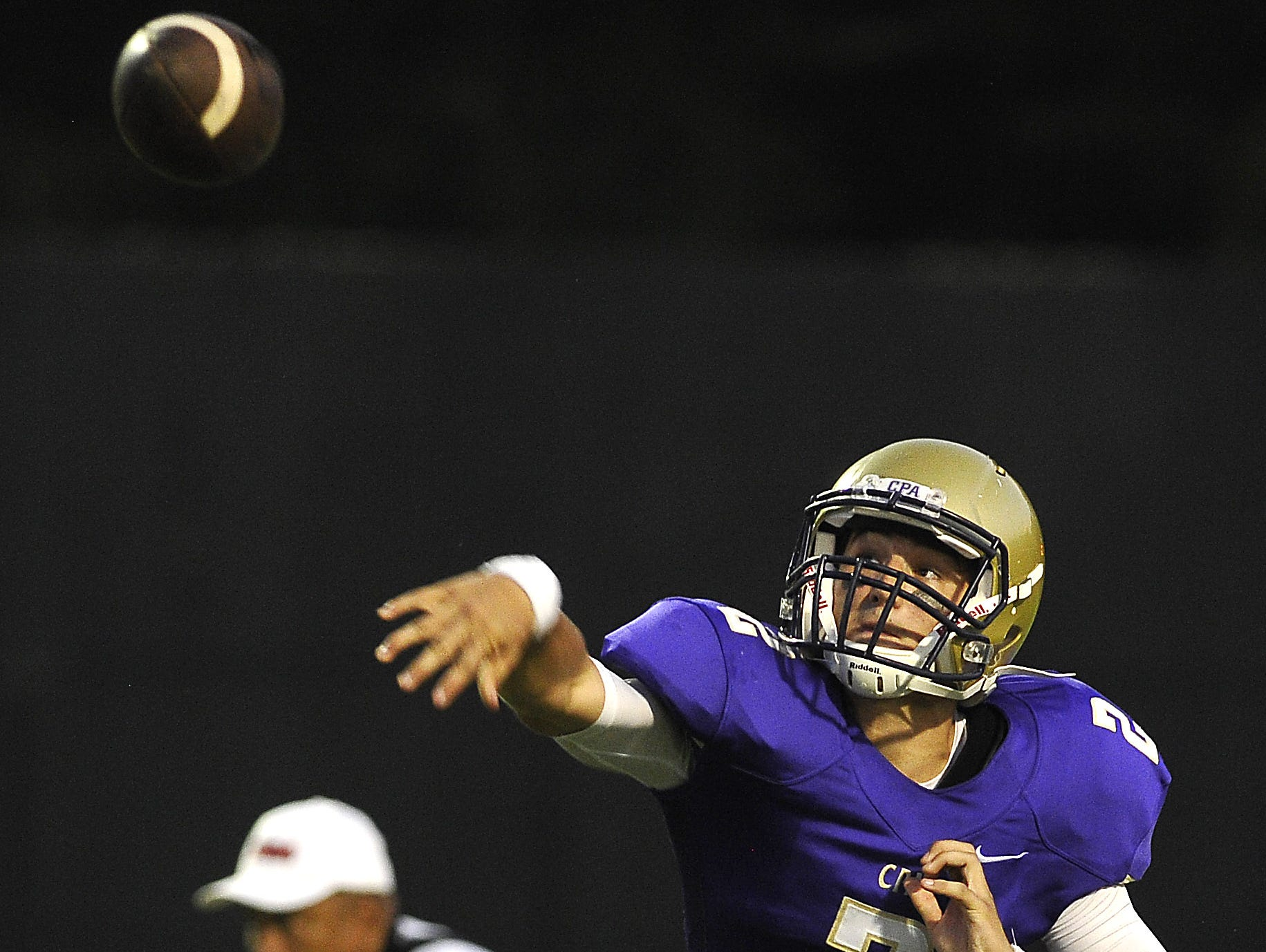 CPA quarterback Zack Weatherly will hope to lead the Lions to their second straight Class 3A state title.