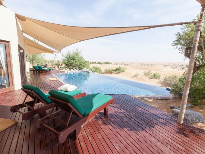 Al Maha Desert Resort, Dubai: While most travelers