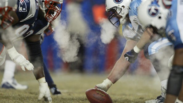The Tennessee Titans offensive line and the New England