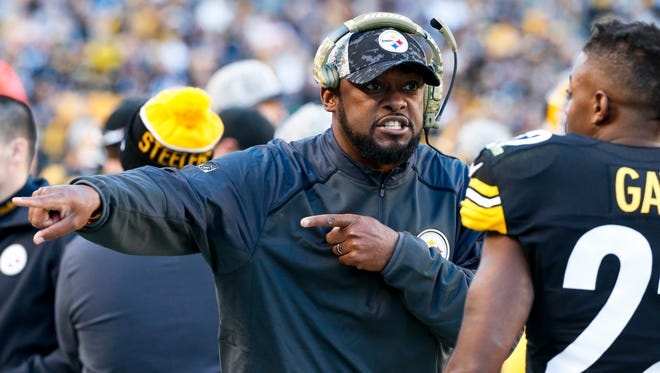 Pittsburgh Steelers head coach Mike Tomlin was caught on video using a vulgar term to describe the New England Patriots.