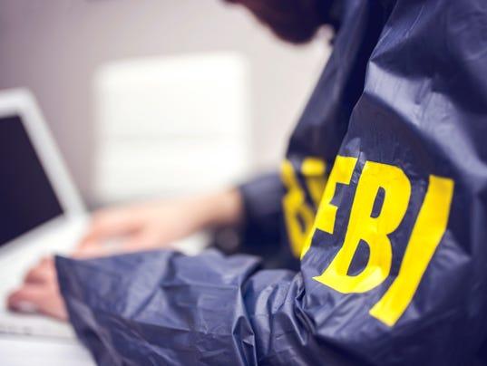 Crime Stock Photo FBI