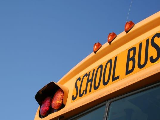 #stock School Bus Stock Photo