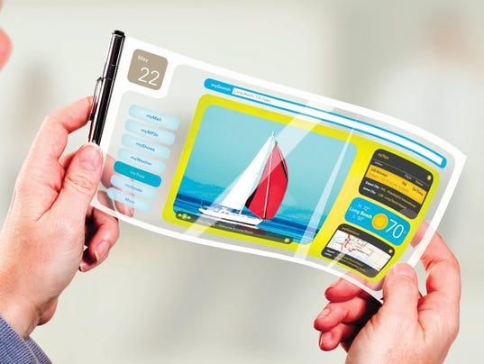 Universal Display Corp_Flexible display_pen rollout