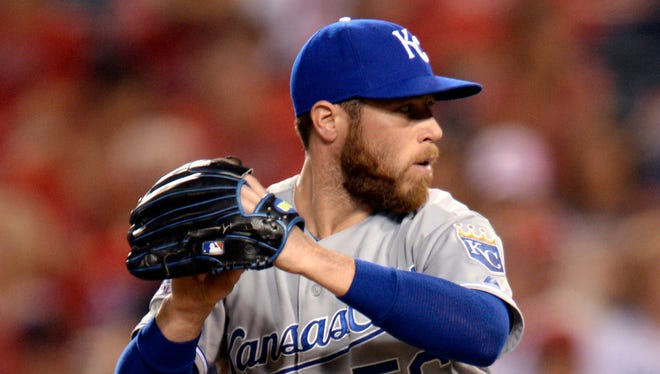 Greg Holland is the closer for the Royals.