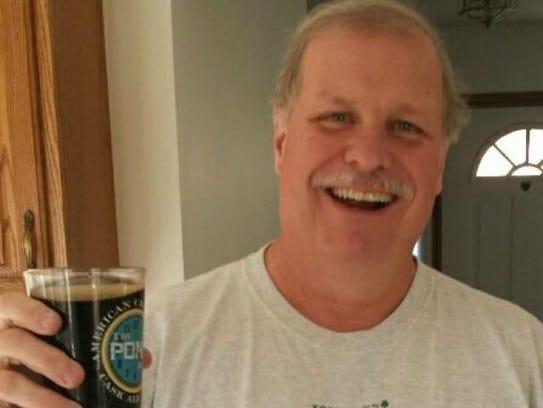 Bill Allen, co-founder of Wood Kettle Brewing