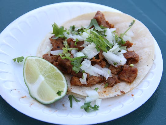 Ricardo Garcia has made tacos out of his truck, Ricky's