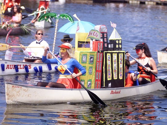 The 40th and final Great Dock Canoe Race is May 14