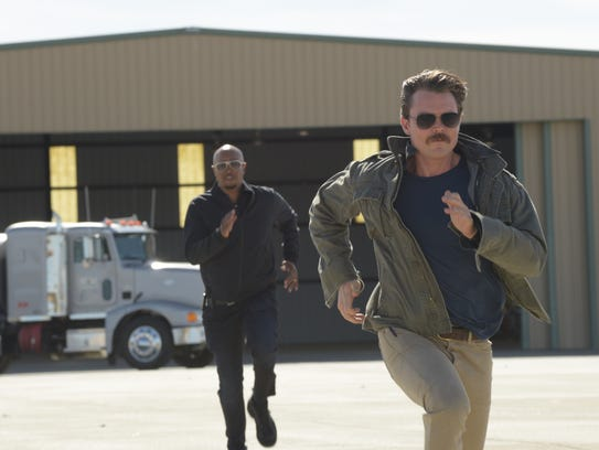 "Damon Wayans and Clayne Crawford on ""Lethal Weapon."""