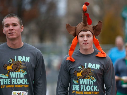 Thousands participated in the 21st Annual Turkey Trot 5K Run/Walk on Thursday, Nov. 25, 2015.