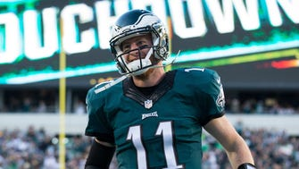 Eagles QB Carson Wentz is flying high atop the NFC East.