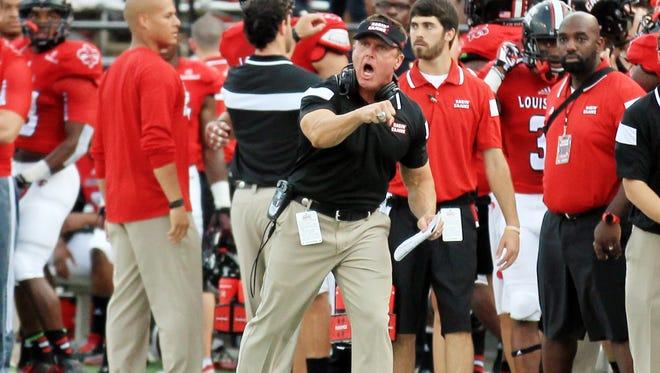 UL Lafayette coach Mark Hudspeth said his team hasn't forgotten a 48-20 loss to Louisiana Tech in 2014.