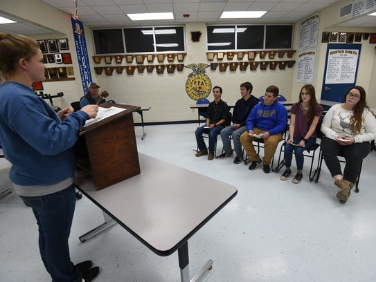 Student involvement in FFA, the ability to promote