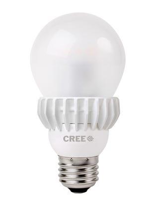 Cree's Soft White 75 watt LED light bulb.