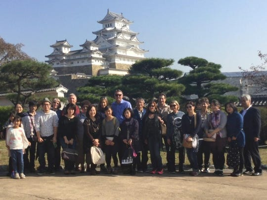 Visalia sent a delegation of 10 people to Miki, Japan to celebrate 50 years of being sister cities.