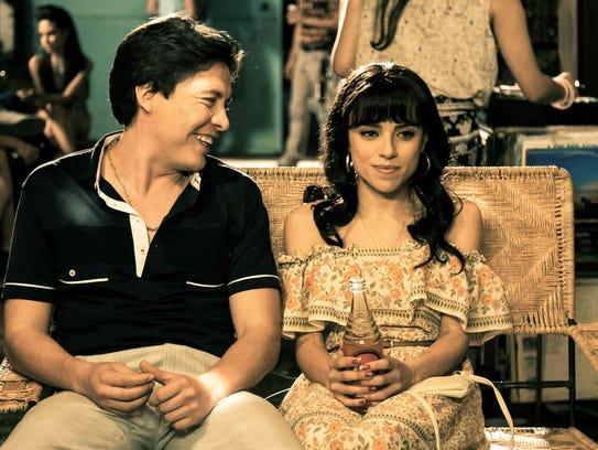 Armando Hernández y Marcela Guirado en sus papeles