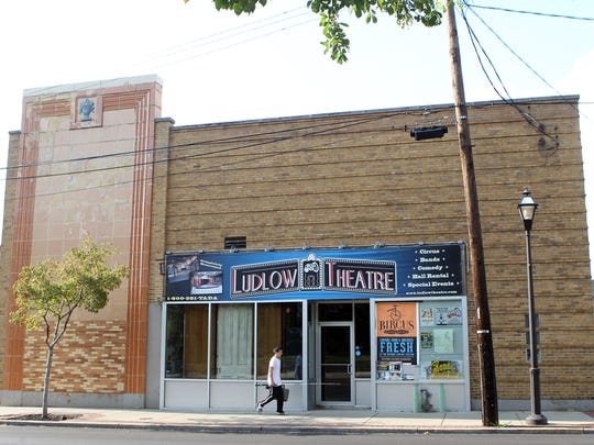 Exterior of the Ludlow Theatre, where Circus Mojo performed for years.
