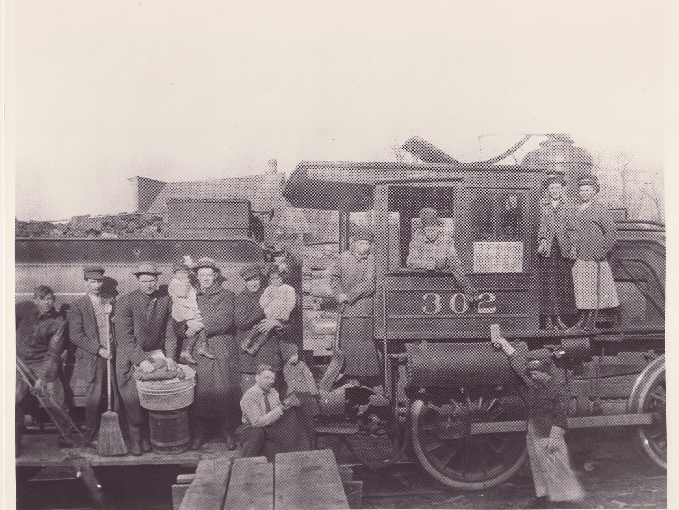 This early 20th Century photo provided by the Michigan