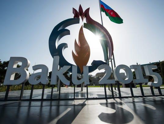 EPA AZERBAIJAN BAKU 2015 EUROPEAN GAMES SPO SPORTS EVENTS AZE