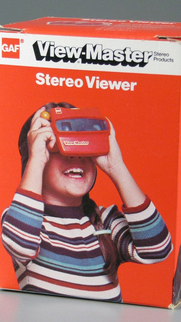 The View-Master was introduced in 1939 and inducted into the National Toy Hall of Fame in 1999.