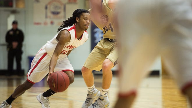 C.J. Thompson has scored 81 points in his last two games for the Erwin boys basketball team.