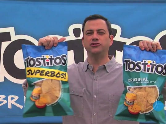 Exclusive Jimmy Kimmel prank with Tostitos