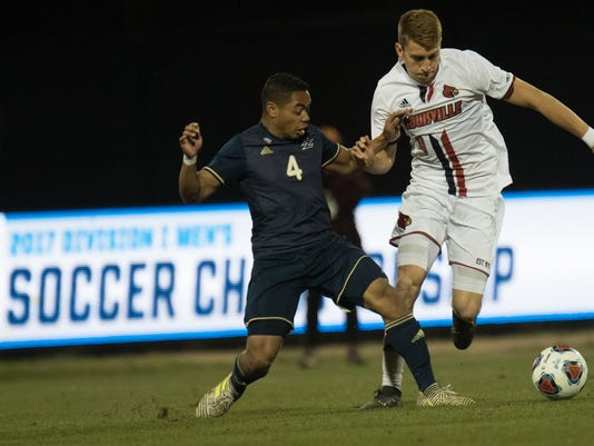 NCAA MSoc Quarterfinal Match