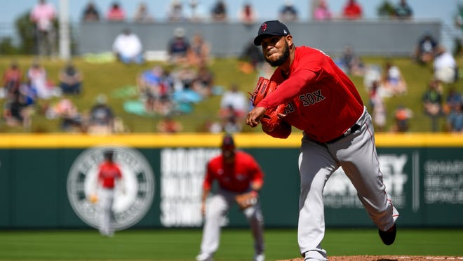 The status of Eduardo Rodriguez as Boston's Opening Day starter looks in doubt after he was diagnosed with COVID-19.