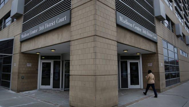 Michigan's 36th District Court