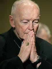 Cardinal Theodore McCarrick is shown in this Nov. 14, 2011 file photo.