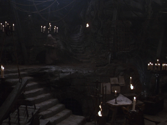 """The Pit of Despair from """"The Princess Bride"""".  Not a pleasant place."""