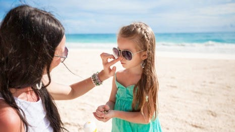 Enjoy fun in the sun safely by using sunscreen correctly.