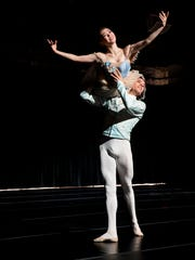 The Cincinnati Ballet performs in the Harry T. Wilks