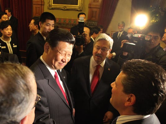 China Vice President Xi Jinping