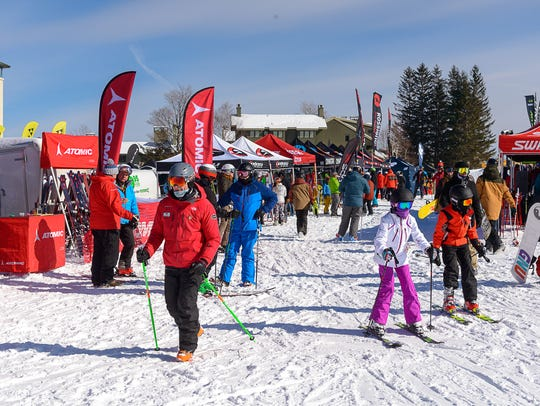 Eastern Winter Sports Reps Association held its on-snow