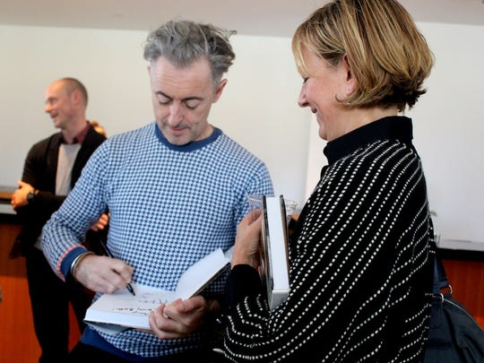 Oblong Books hosted actor and author Alan Cumming last year at the Bard Fisher Center.
