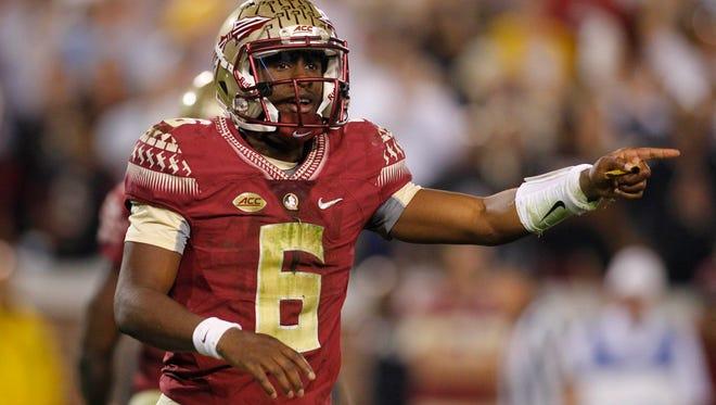 Florida State Seminoles quarterback Everett Golson.