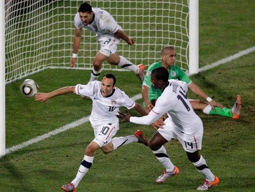 1. Landon Donovan - 57 goals (2000-2014)