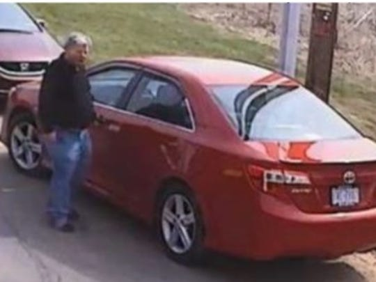 The suspect in a string of thefts from Florida to Pennsylvania,
