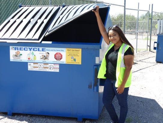 Also in July, recycling rates for commercial dumpsters