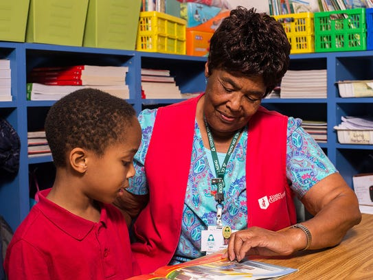 Foster Grandparents give their experience and talent