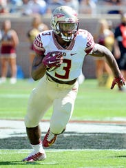 Florida State freshman tailback Cam Akers will look
