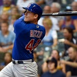 First baseman Anthony Rizzo leads a powerful Cubs lineup.